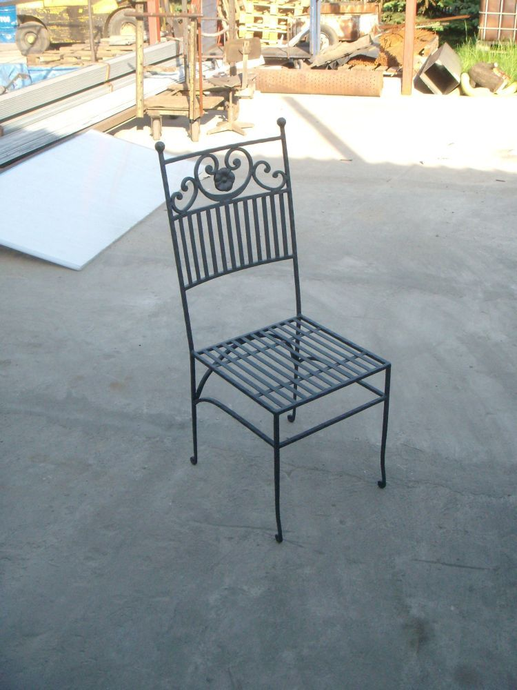 Wrought iron furniture - Meubles en fer forge ...