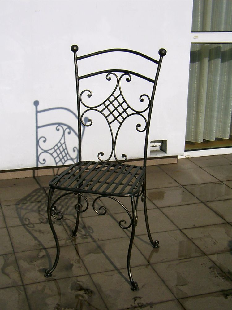 wrought iron furniture. Black Bedroom Furniture Sets. Home Design Ideas