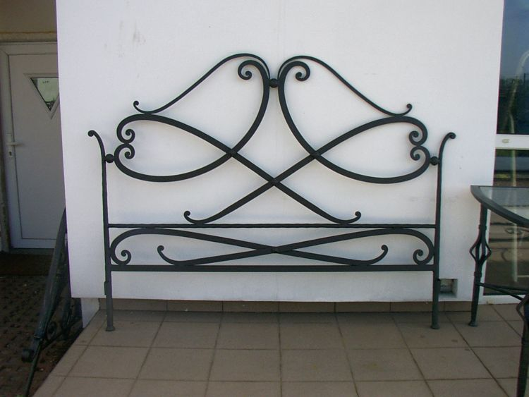 Wrought iron furniture for Fer forge meuble