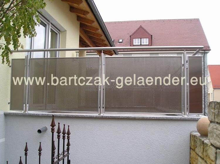 Balkongeländer Edelstahl | Glas | Bausatz | Bartczak-gelaender Gelander Am Balkon Bauen