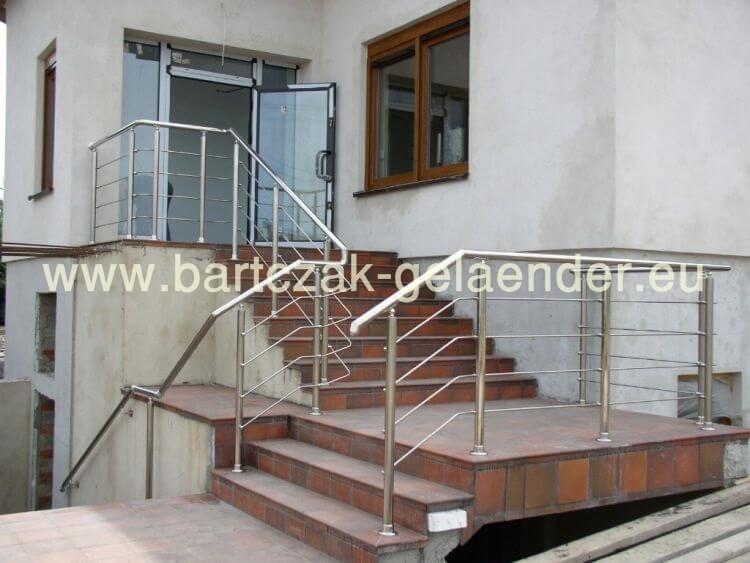 bartczak gelaender balkongel nder edelstahl g nstig. Black Bedroom Furniture Sets. Home Design Ideas
