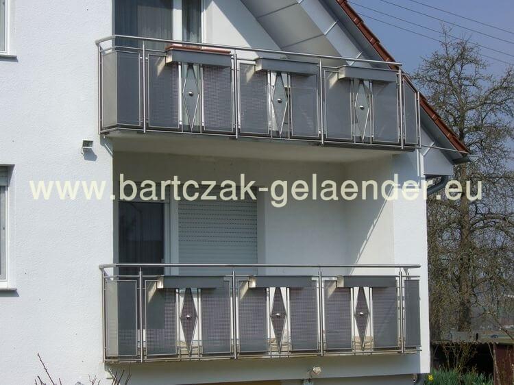 Bartczak Gelaender Balkongelander Edelstahl Metall Verzinkt Aus Polen