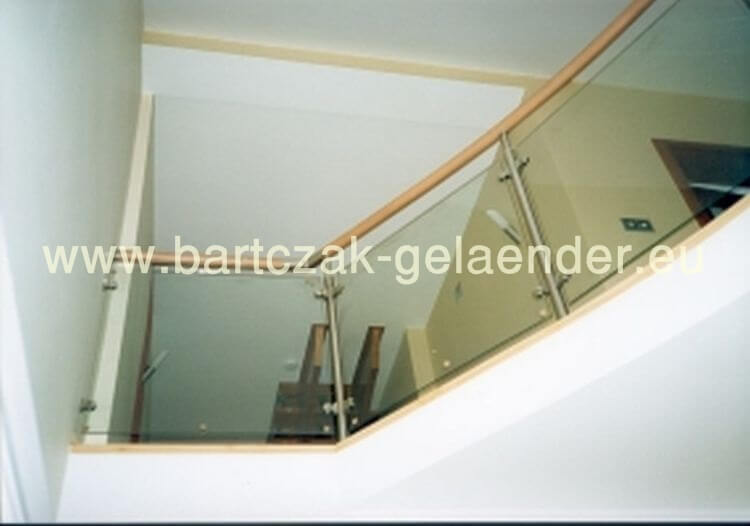 balkongel nder verzinkt mit glas als bausatz aus polen. Black Bedroom Furniture Sets. Home Design Ideas