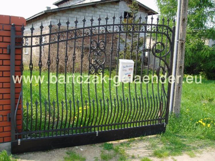 eisentor eisentore galerie bartczak gelaender. Black Bedroom Furniture Sets. Home Design Ideas