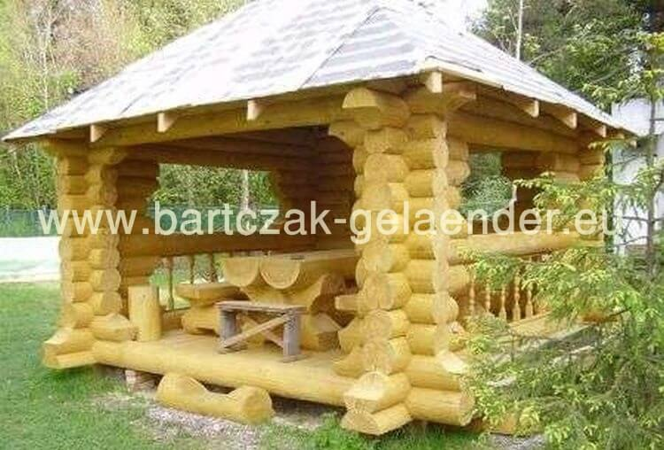 garten holzpavillon als bausatz selber bauen bartczak gelaender. Black Bedroom Furniture Sets. Home Design Ideas