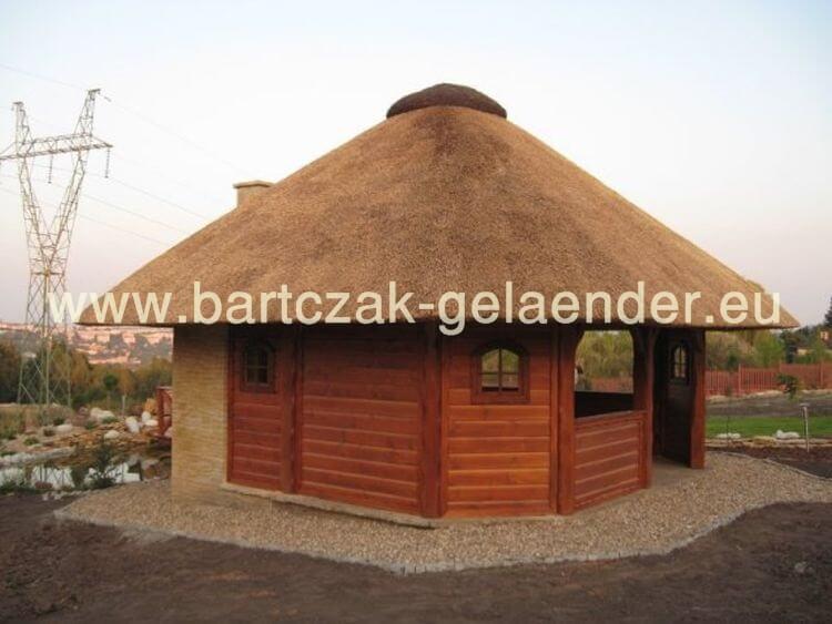 garten holzpavillon aus polen geschlossen als bausatz. Black Bedroom Furniture Sets. Home Design Ideas