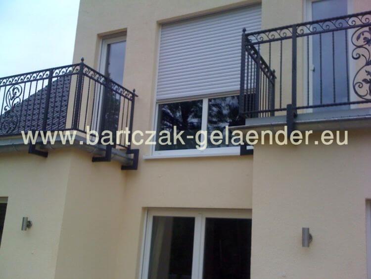Geländer Verzinkt | Bartczak-gelaender Gelander Am Balkon Bauen