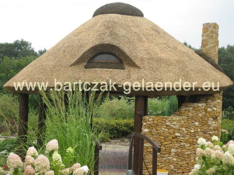 gartenpavillon holz reetdach. Black Bedroom Furniture Sets. Home Design Ideas