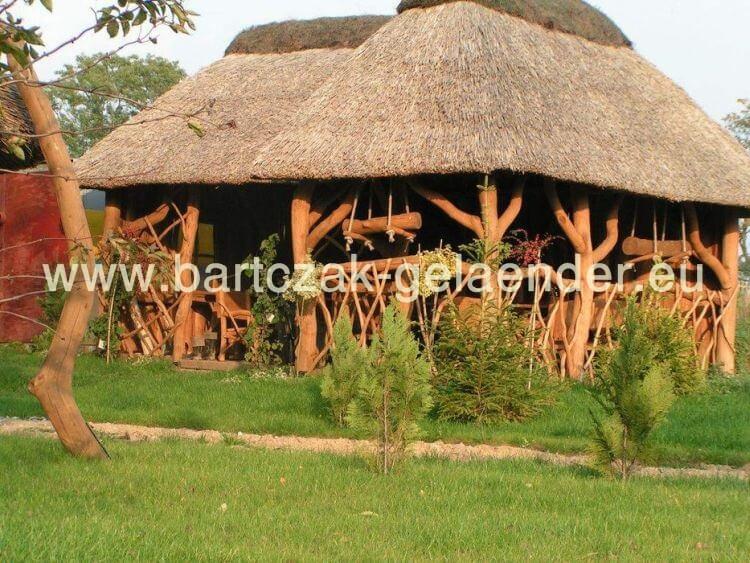 Gartenpavillon Holz Reetdach ~ Gartenpavillon mit Reetdach, Gartenpavillon holz Reetdach, Strohdach