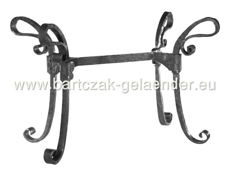 schmiedeeisen tisch tischgestell mit glasplatte eisen antik rund nur bei bartczak gelaender. Black Bedroom Furniture Sets. Home Design Ideas
